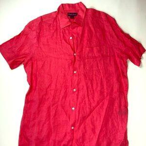 Ralph Lauren Lrg linen shirt